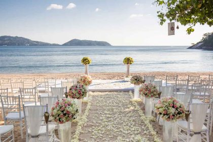 beach weddings phuket, Romantic Wedding Location