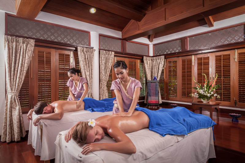 Chann Spa Phuket, Oli Massage, Thavorn Beach Village Resort & Spa