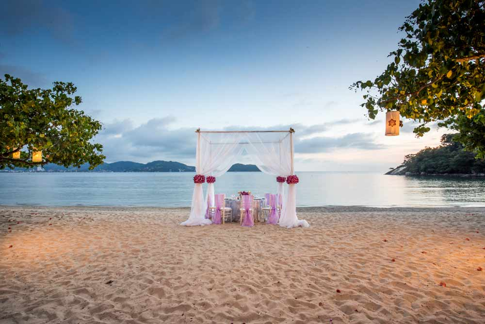 Wedding Planners in Phuket, Thavorn Hotel & Resort, Beach Wedding Resort