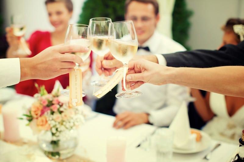 wedding party, wedding guest