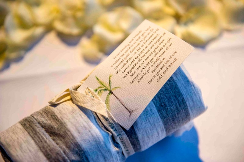 phuket wedding resort, wedding event card