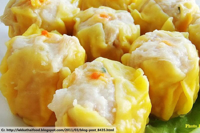 Dim sum, Phuket Local food, style of Chinese cuisine