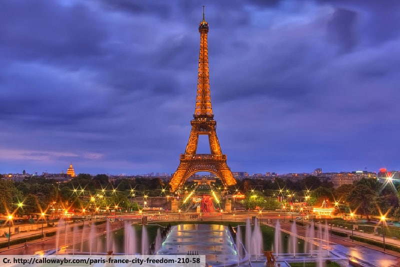 Paris, France, Honeymoon Location