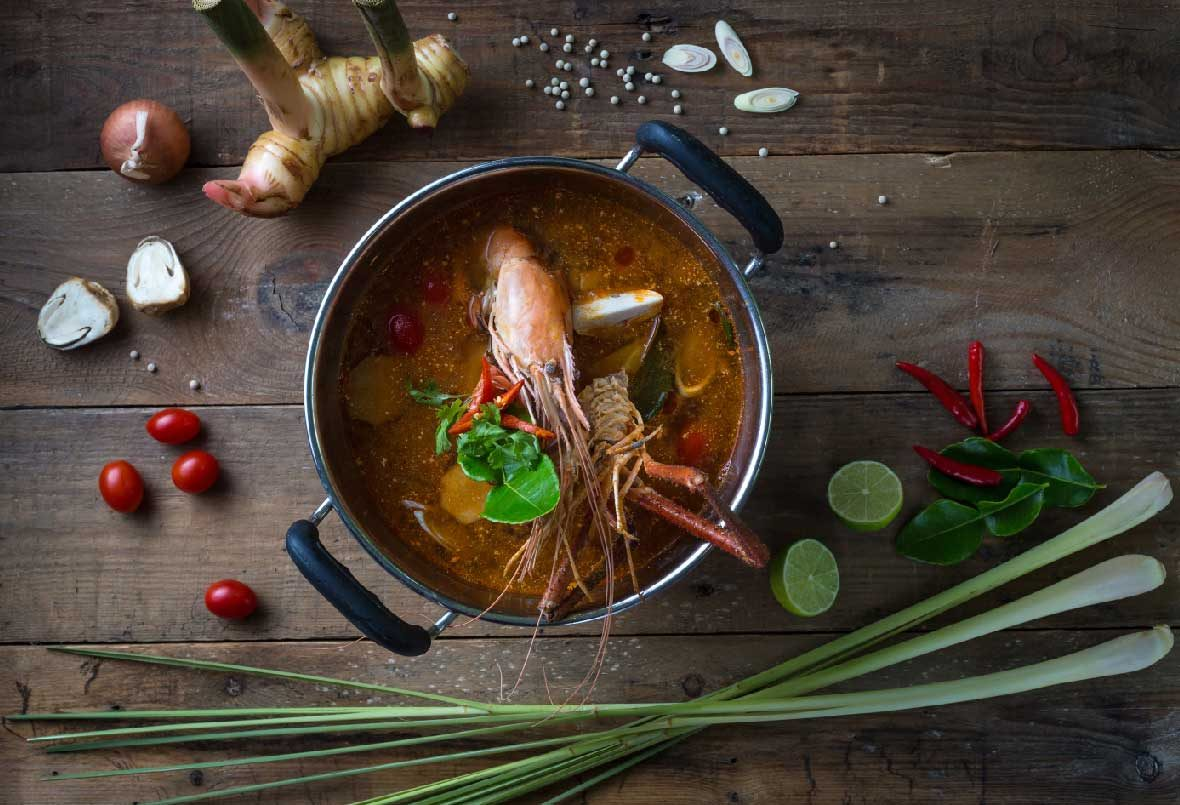 Thai food signature, Tom Yum Gung