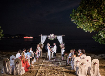 Phuket Beach Weddings in Luxury Resort Thavorn Beach Village Resort