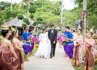Phuket Traditional Thai Wedding Package Ceremony | Beach Weddings