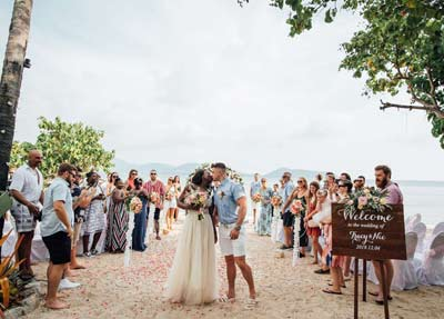 Destination Wedding Perfect Location Private Beach Phuket