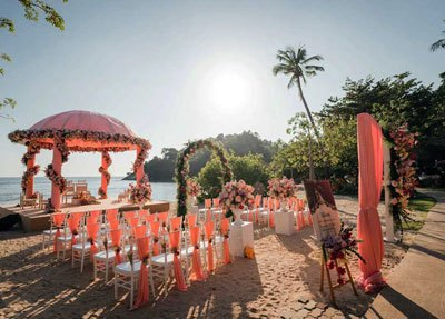 Phuket Indian Wedding Romantic Private Beach