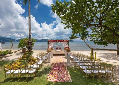 Indian Wedding In Phuket | Private Beach Venue
