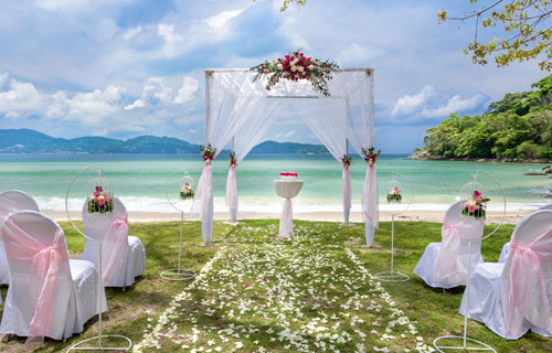 Service Platinum Wedding Package Phuket